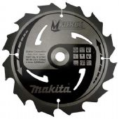 Makita 190x15.88mm TCT MForce Circular Saw Blade - 12 Teeth (B-07951)